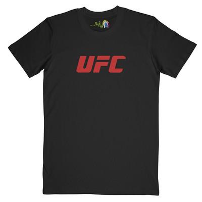 تصویر تیشرت مردانه چاپچی طرح UFC کد Z117