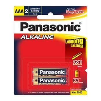 باتری نیم قلمی پاناسونیک مدل Alkaline Everyday بسته 2 عددی