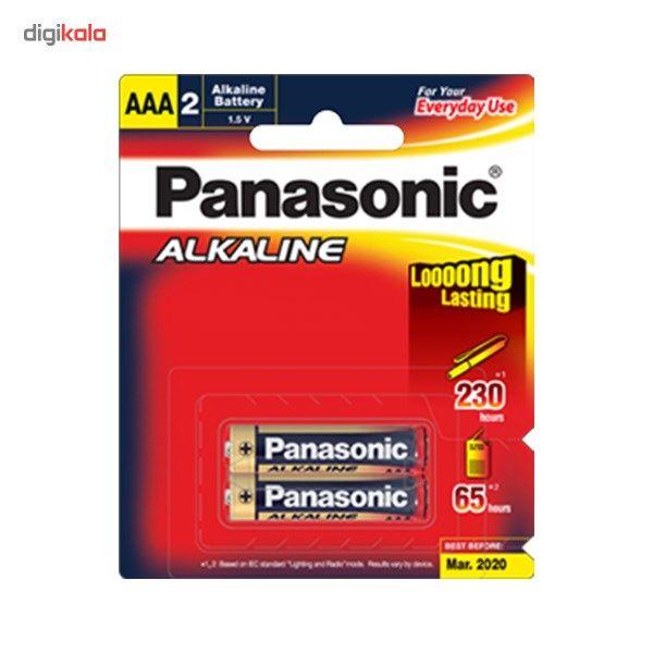 باتری نیم قلمی پاناسونیک مدل Alkaline Everyday بسته 2 عددی main 1 1