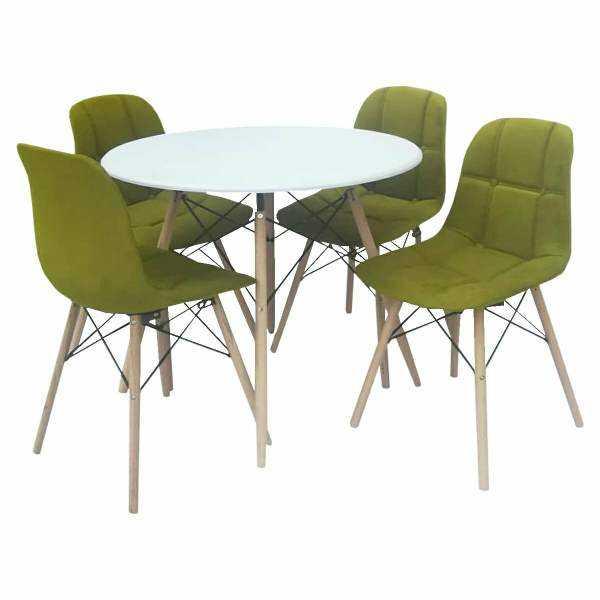 میز و صندلی ناهارخوری 4 نفره مدل D12345a