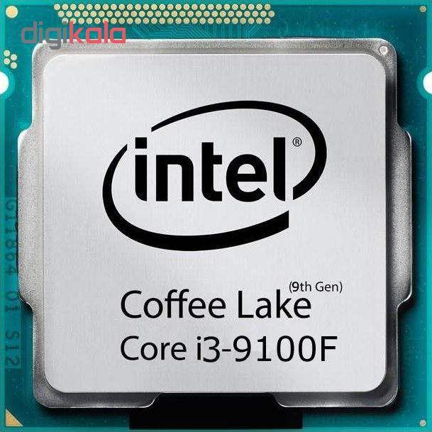 پردازنده مرکزی اینتل سری Coffee Lake مدل Core i3-9100F Tray