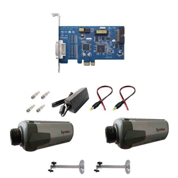 سیستم امنیتی نظارتی دوربین مداربسته مدل SX4001A