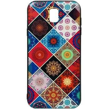 کاور طرح Patchwork کد 1386 مناسب برای گوشی موبایل سامسونگ Galaxy J7 Pro / J730