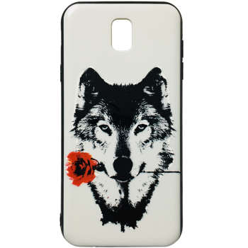 کاور طرح Wolf کد 1393 مناسب برای گوشی موبایل سامسونگ Galaxy J5 Pro / J530