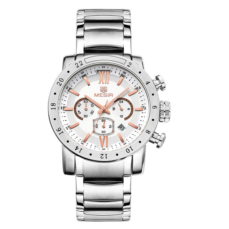 کد تخفیف                                      ساعت مچی عقربه ای مردانه مگیر مدل MS3008G-7N0