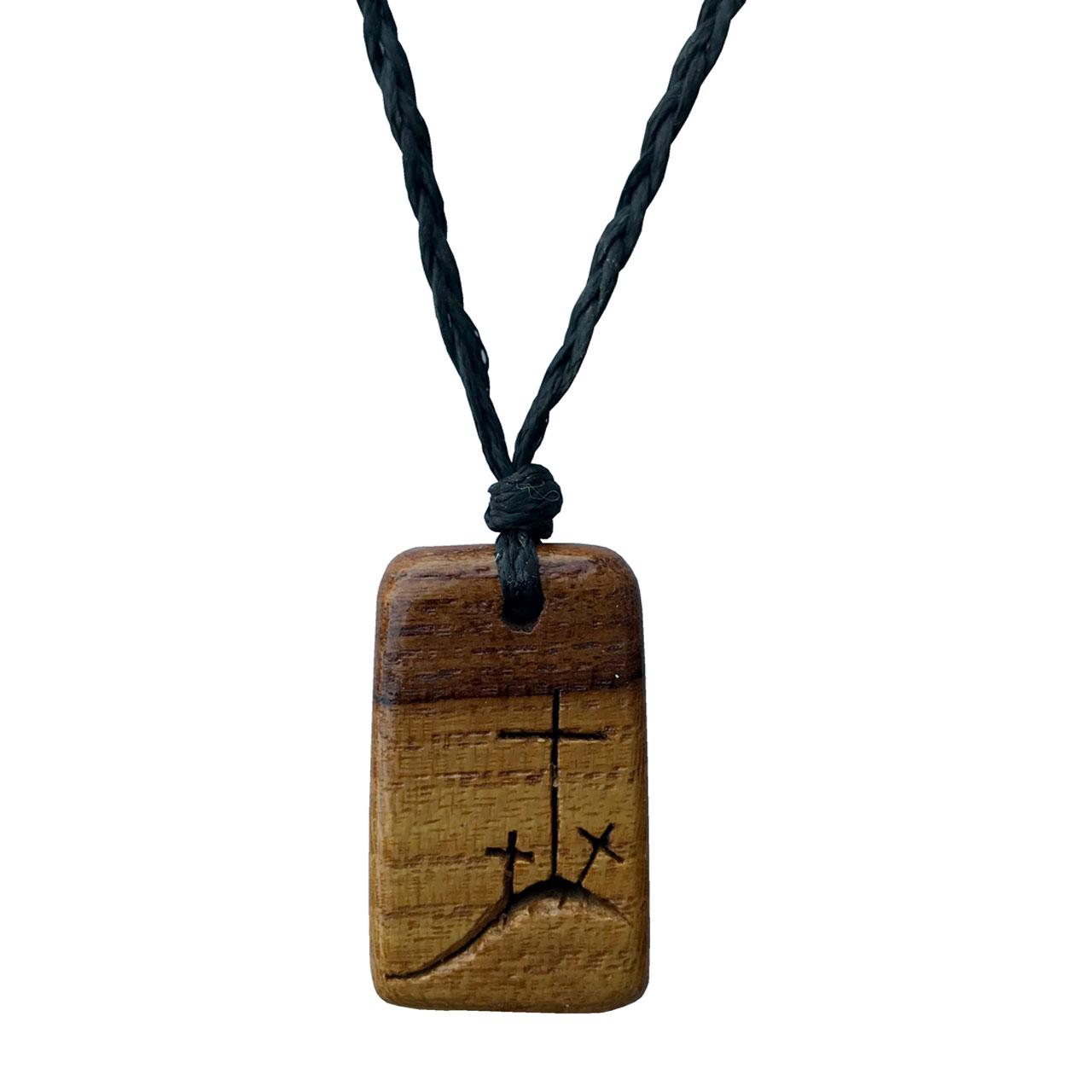 گردنبند طرح صلیب کد 258