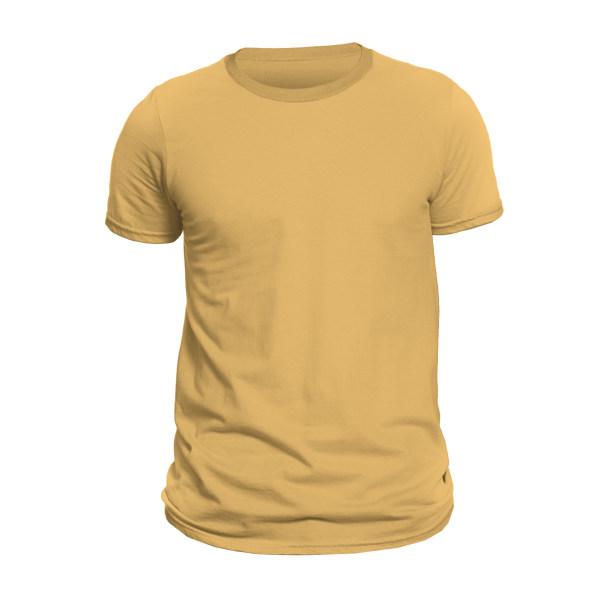 تیشرت آستین کوتاه مردانه کد 1SYLL رنگ زرد