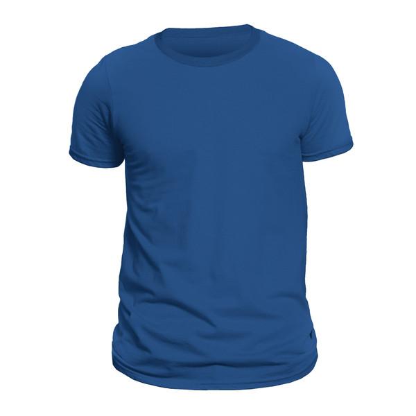 تیشرت آستین کوتاه مردانه کد 1TBUU رنگ آبی