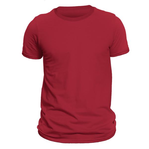 تیشرت آستین کوتاه مردانه کد 1SDD رنگ قرمز