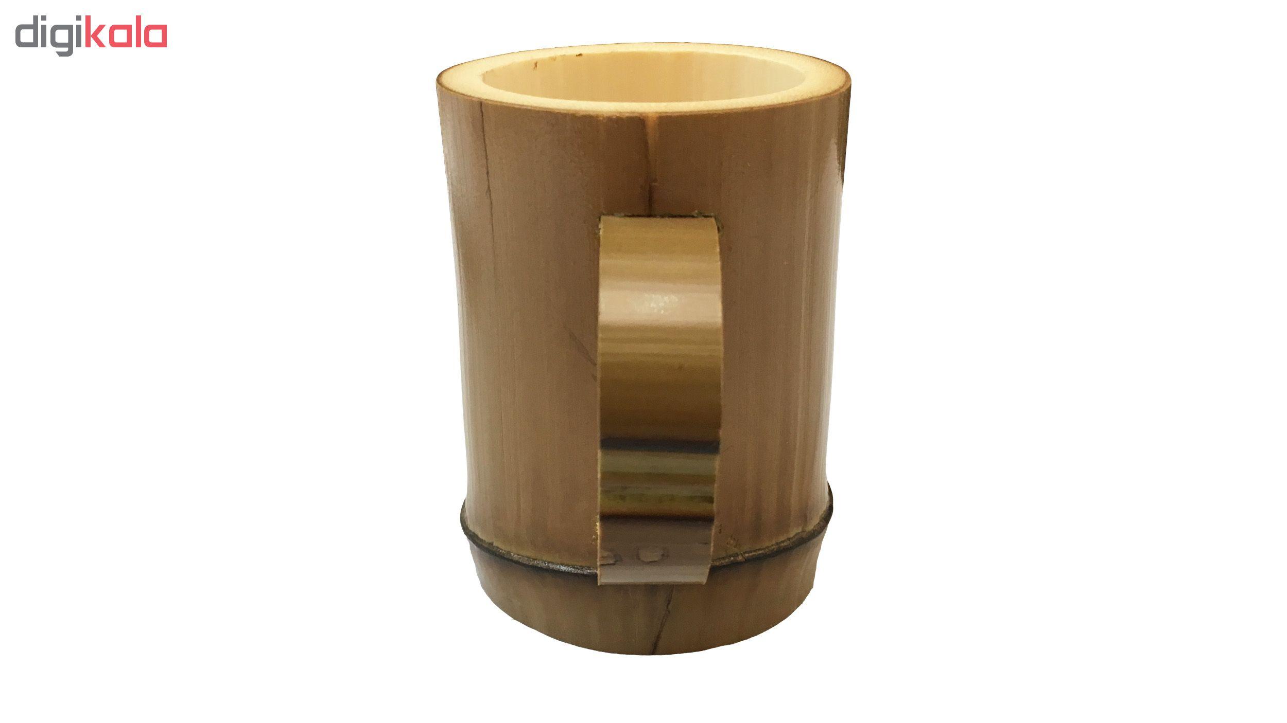 لیوان چوبی مدل BM03