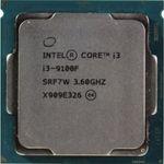 پردازنده مرکزی اینتل سری Coffee Lake مدل Core i3-9100F Tray thumb