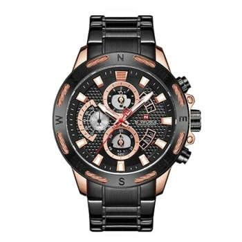 ساعت مچی عقربه ای مردانه نیوی فورس مدل NF9165 RGB