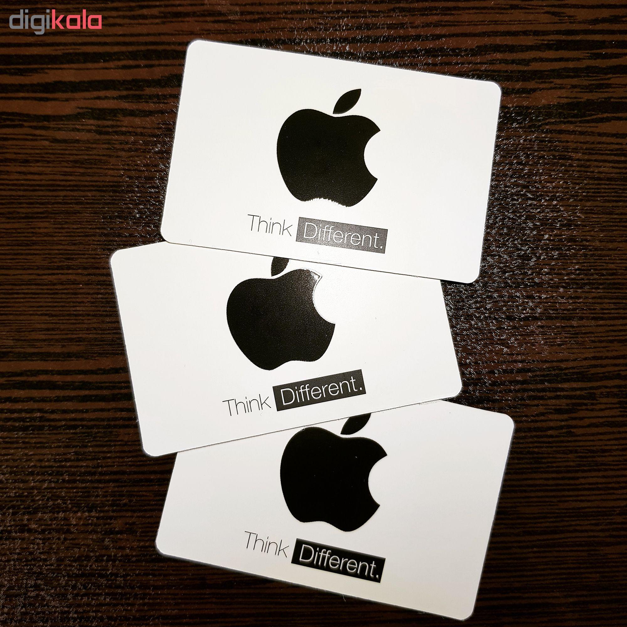 خرید اینترنتی اپل آیدی بدون اعتبار اولیه مدل STK بسته 25 عددی اورجینال