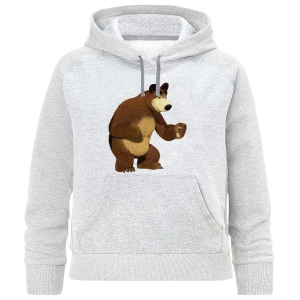 هودی پسرانه طرح خرس میشا کد R12