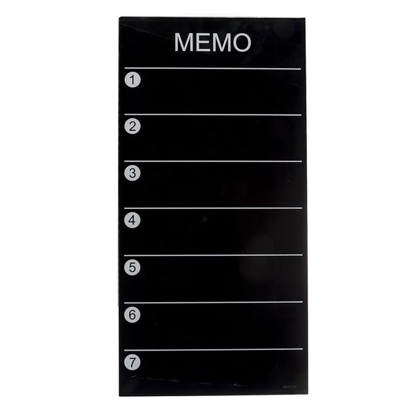 تخته وایت برد شیشه ای هوم تک مدل Memo Board سایز 30 × 60 سانتیمتر
