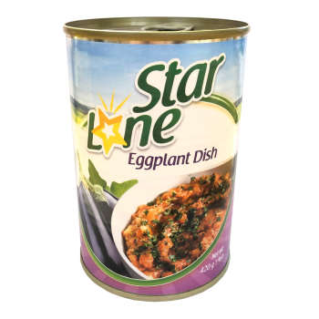 کنسرو خوراک بادمجان لون استار- 420 گرم