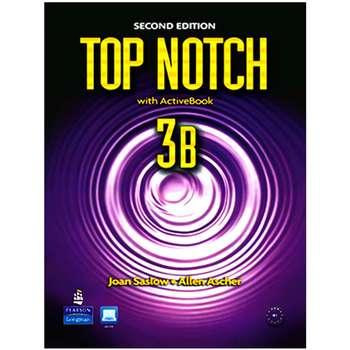 کتاب Top notch 3B 2nd Edition اثر Joan Saslow And Allen Ascher انتشارات Pearson