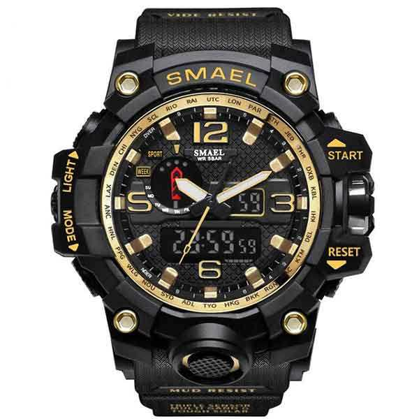 ساعت مچی دیجیتال مردانه اس میل مدل 1545