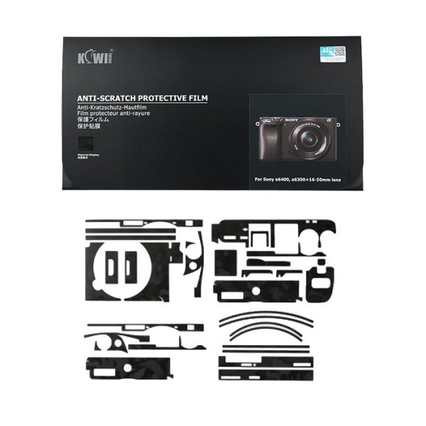 برچسب پوششی کی وی مدل KS-A6400SK مناسب برای دوربین عکاسی سونی  a6100/a6400/a6300