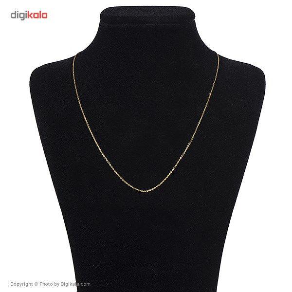 زنجیر طلا 18 عیار ماهک مدل MM0353 - مایا ماهک -  - 2
