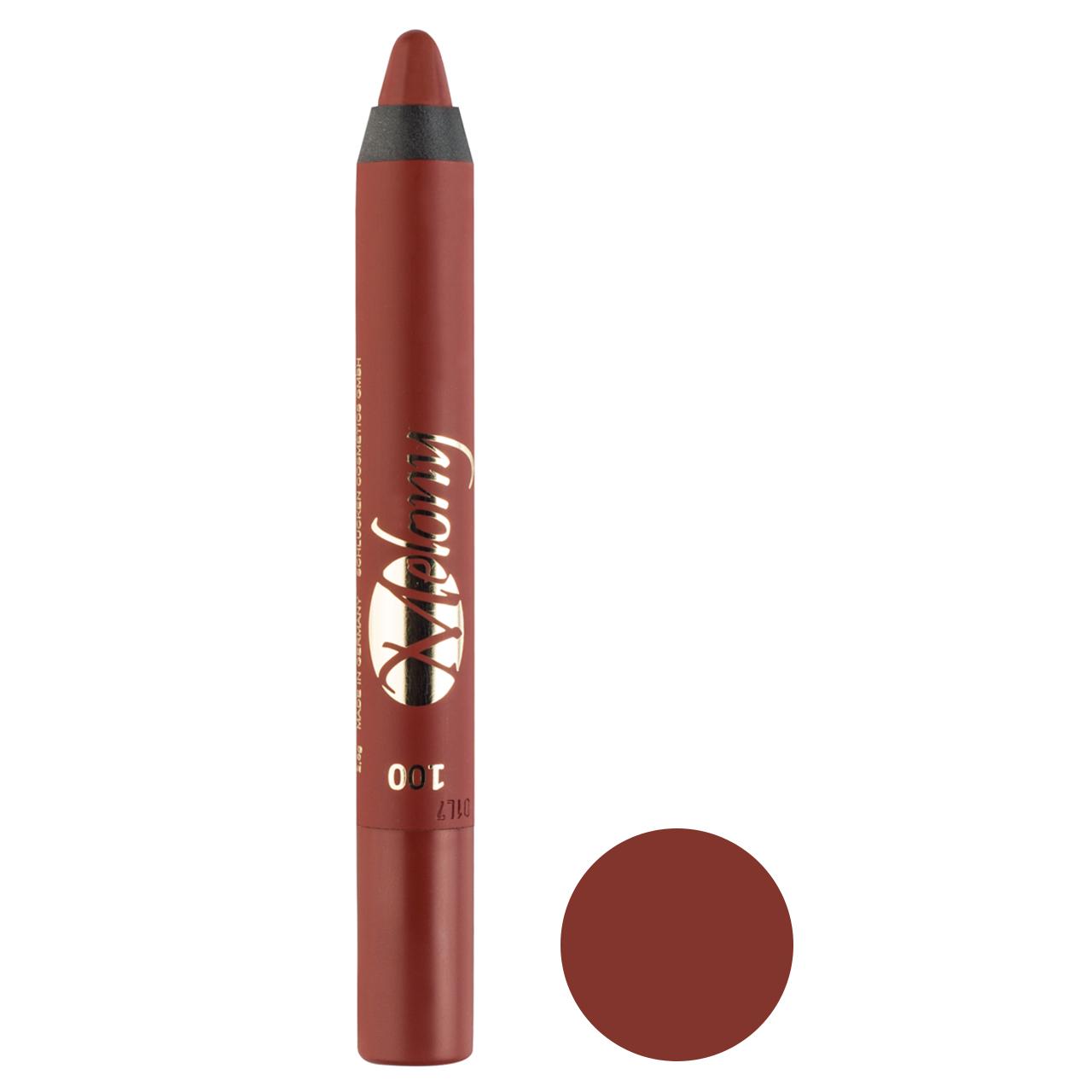 رژ لب مدادی ملونی مدل Crazy Cool شماره 100