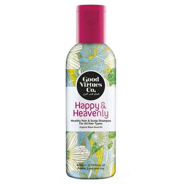 شامپو احیا کننده و ضد ریزش مو مناسب انواع مو گود ورچو مدل Healthy Hair And Scalp Shampoo حجم 180 میلی لیتر