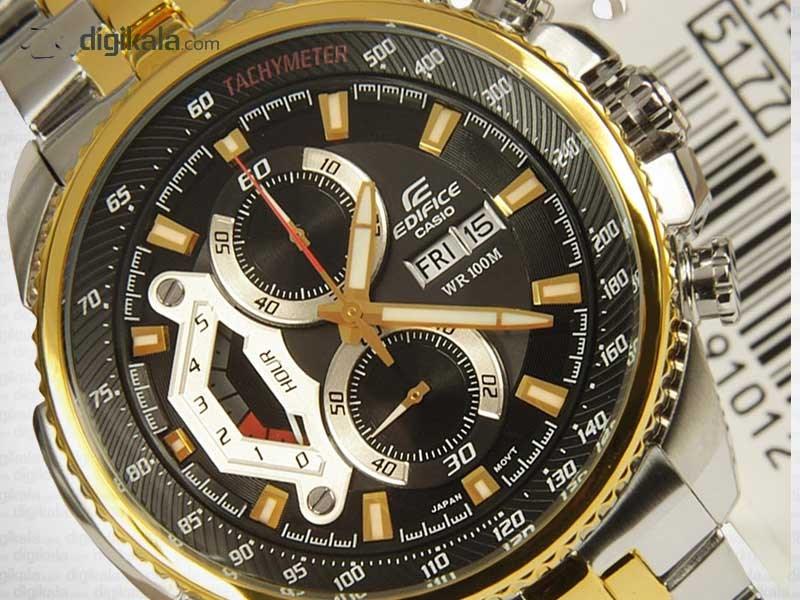 ساعت مچی عقربه ای مردانه کاسیو ادیفایس EF-558SG-1AVDF              خرید (⭐️⭐️⭐️)