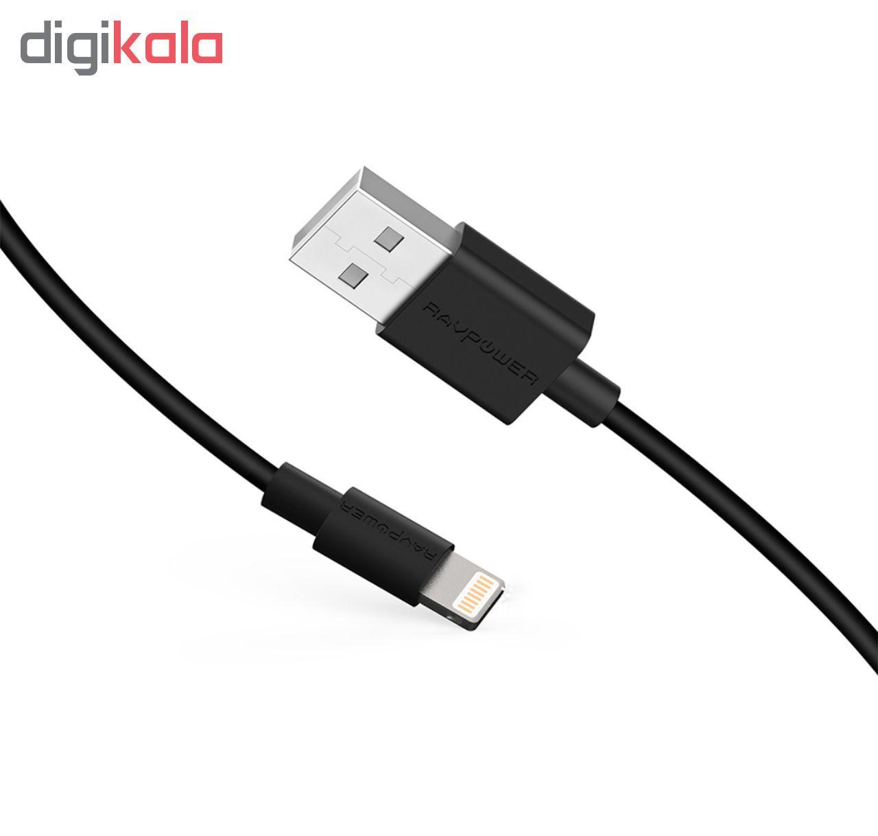 کابل تبدیل USB به لایتنینگ راو پاور مدل RP-CB031 طول 2 متر main 1 5
