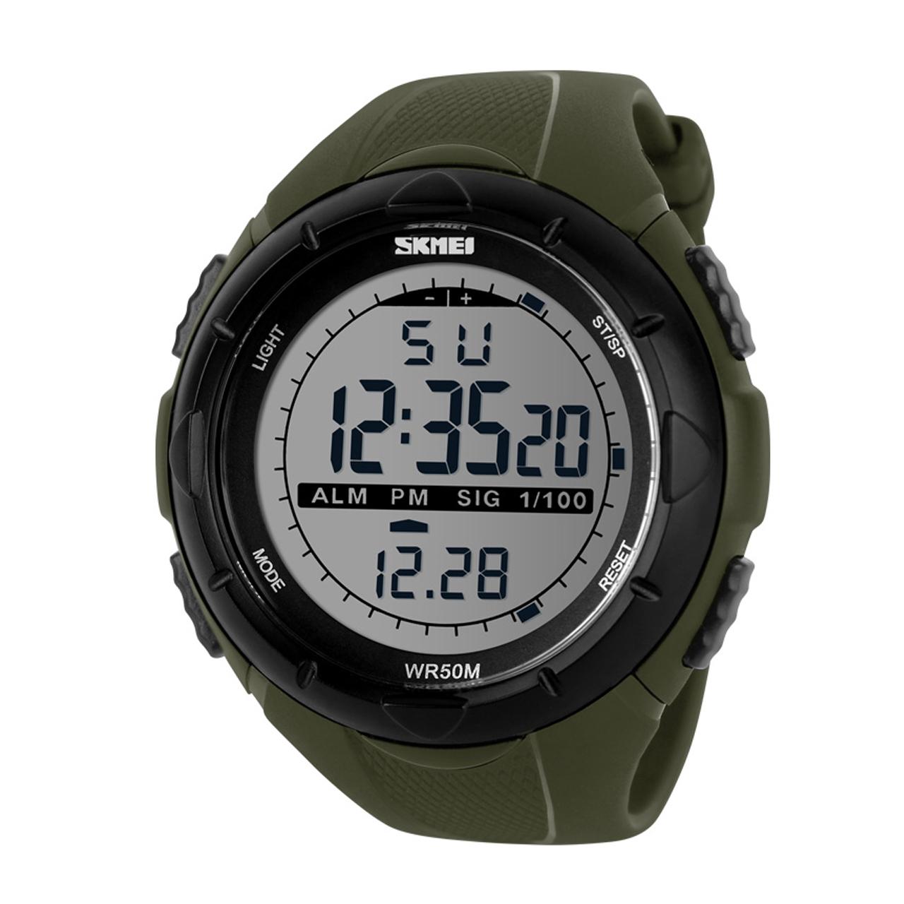 قیمت و خرید                      ساعت مچی دیجیتالی اسکمی مدل 1025