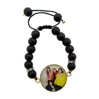 دستبند زنانه طرح blackpink کد 3002