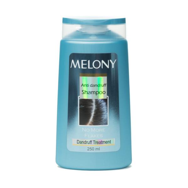 شامپو ضدشوره ملونی مدل Anti dandruff مناسب انواع مو حجم 250 میلی لیتر