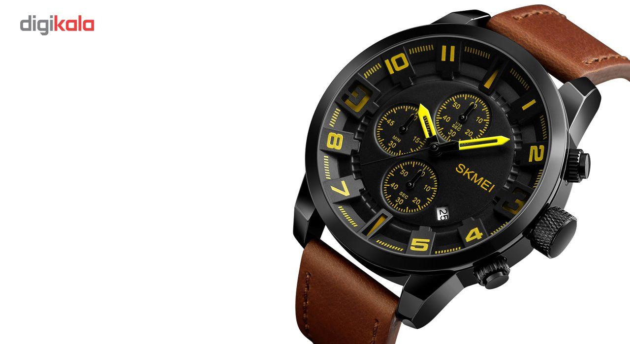 ساعت مچی عقربه ای مردانه اسکمی مدل 1309 -  - 3