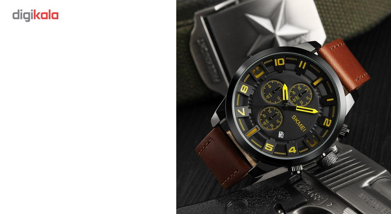 ساعت مچی عقربه ای مردانه اسکمی مدل 1309 -  - 5