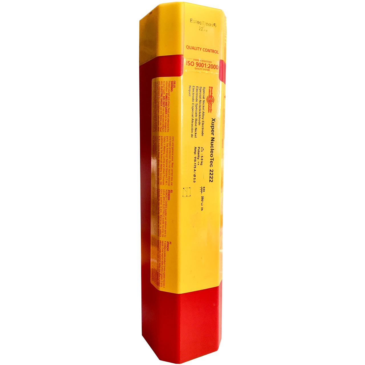 الکترود جوشکاری کاستولین یوتکتیک کد X 2222 وزن 5 کیلوگرم