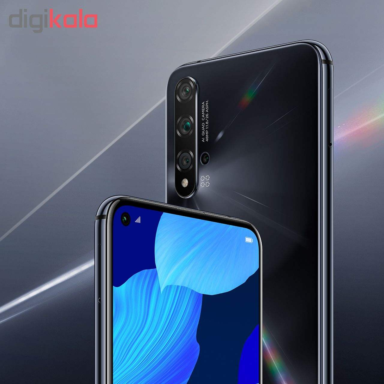 گوشی موبایل هوآوی مدل Nova 5T YAL-L21 دو سیم کارت ظرفیت 128 گیگابایت main 1 7