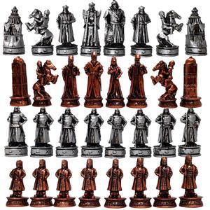 مهره شطرنج رخ مدل B3 مجموعه 32 عددی