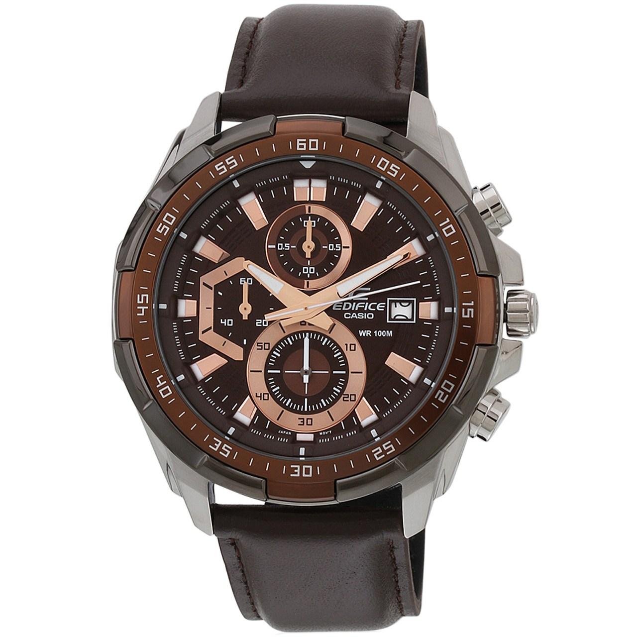 ساعت مچی عقربه ای کاسیو سری ادیفایس مدل EFR-539L-5AVUDF مناسب برای آقایان              خرید (⭐️⭐️⭐️)