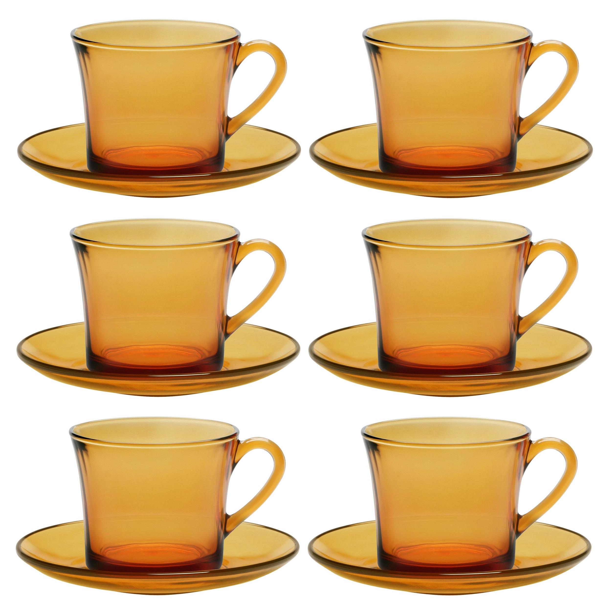 عکس سرویس چای خوری 12 پارچه دورالکس مدل LYS