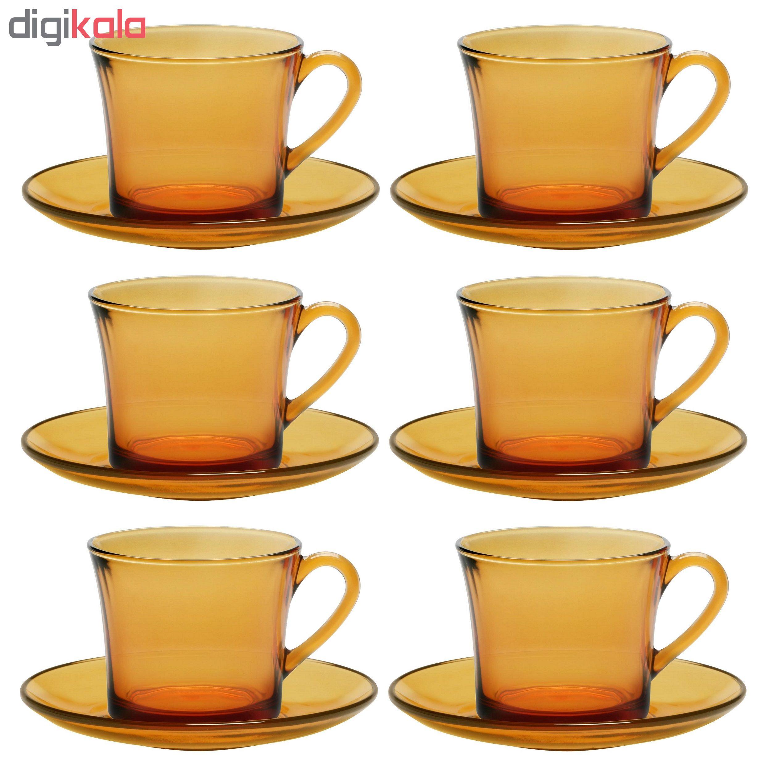 سرویس چای خوری 12 پارچه دورالکس مدل LYS