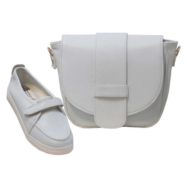 ست کیف و کفش زنانه کد SE042-08