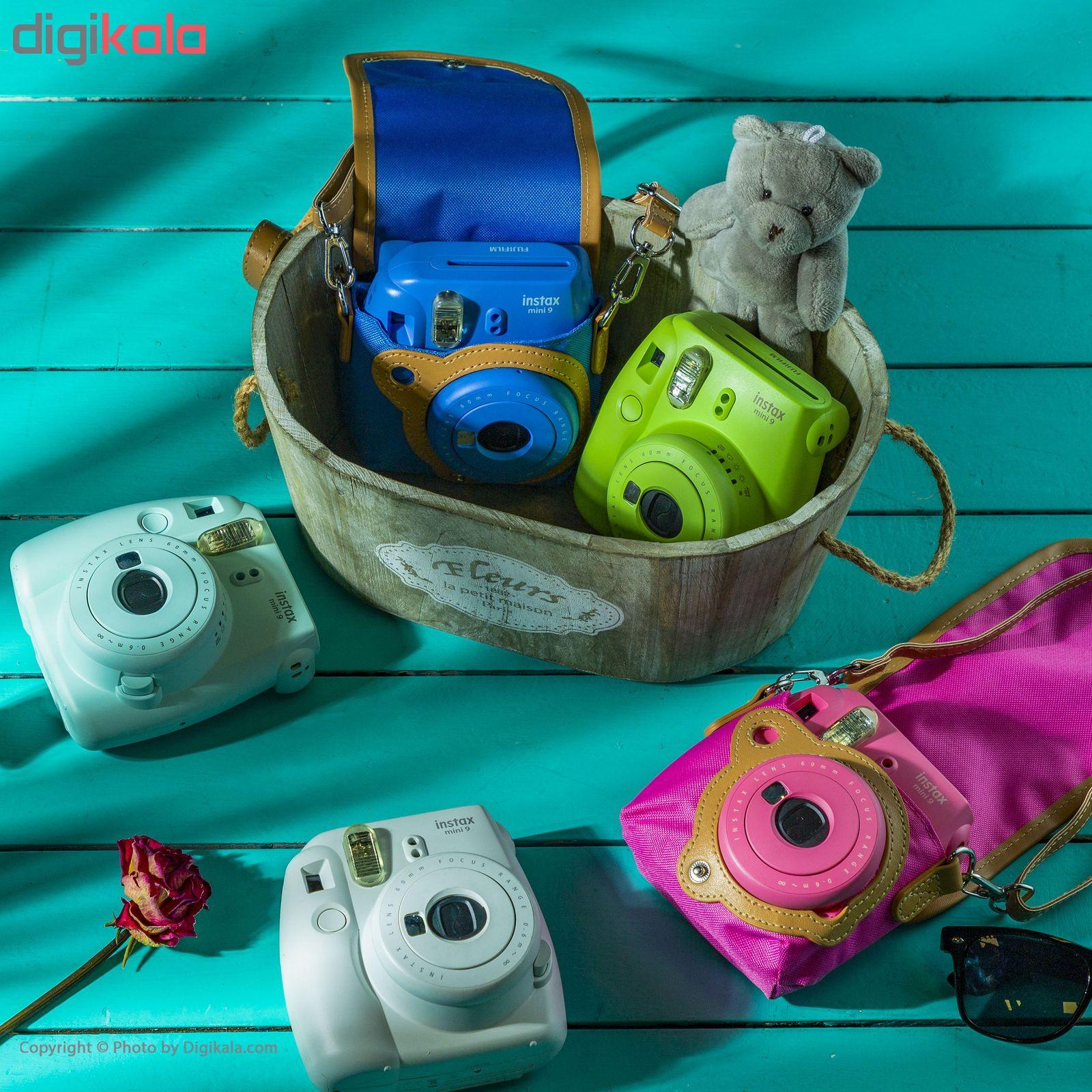 دوربین عکاسی چاپ سریع فوجی فیلم مدل Instax Mini 9 به همراه  فیلم مخصوص main 1 15