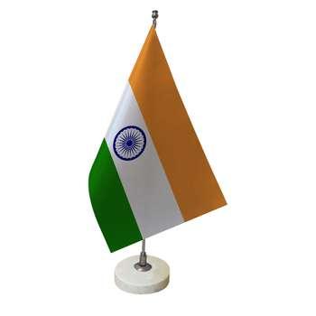 پرچم رومیزی طرح پرچم هند کد pr17