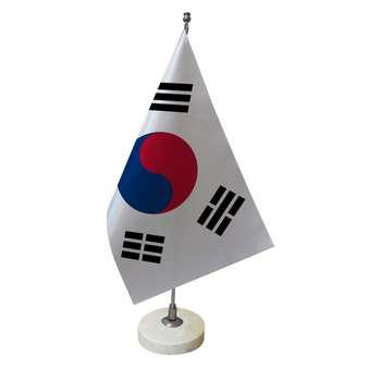 پرچم رومیزی طرح پرچم کره جنوبی کد pr16
