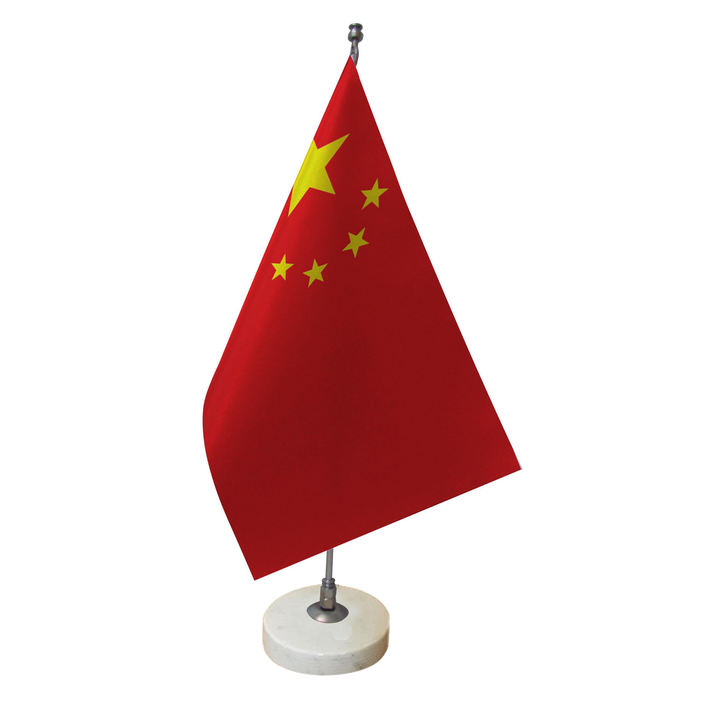 خرید                      پرچم رومیزی طرح پرچم چین کد pr7