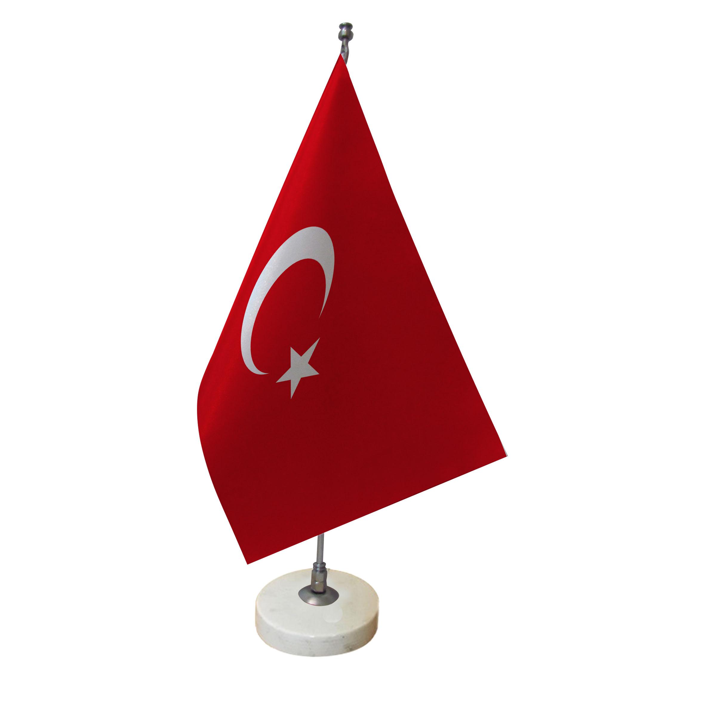 پرچم رومیزی طرح پرچم ترکیه کد pr1