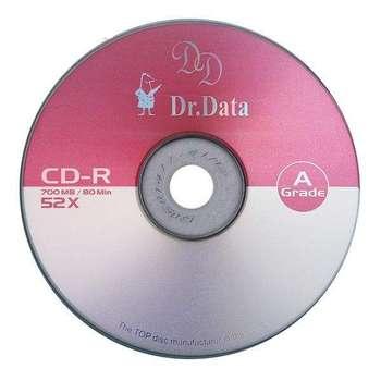 سی دی خام دکتر دیتا مدل CD-R پک 50 عددی