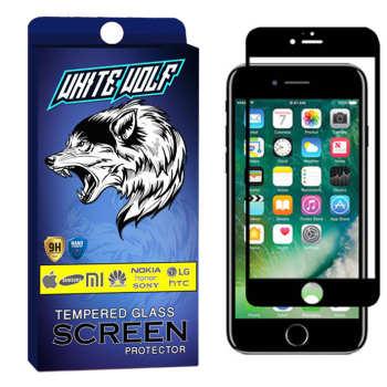 محافظ صفحه نمایش وایت ولف مدل WGF مناسب برای گوشی موبایل اپل   Iphone 8 Plus