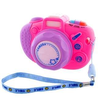 اسباب بازی آموزشی دوربین موزیکال عکاسی مدل Mini Camera