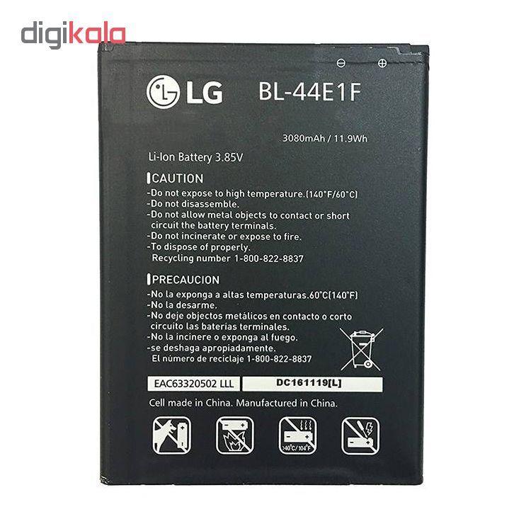 باتری موبایل مدل BL-44E1F ظرفیت 3080 میلی آمپر ساعت مناسب برای گوشی موبایل ال جی V20 main 1 2