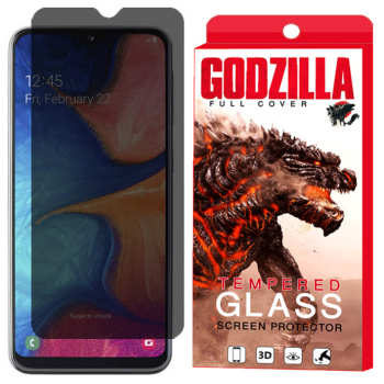 محافظ صفحه نمایش حریم شخصی گودزیلا مدل GGPS مناسب برای گوشی موبایل سامسونگ Galaxy M20